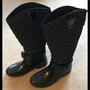 Kamik rain boots with style - black